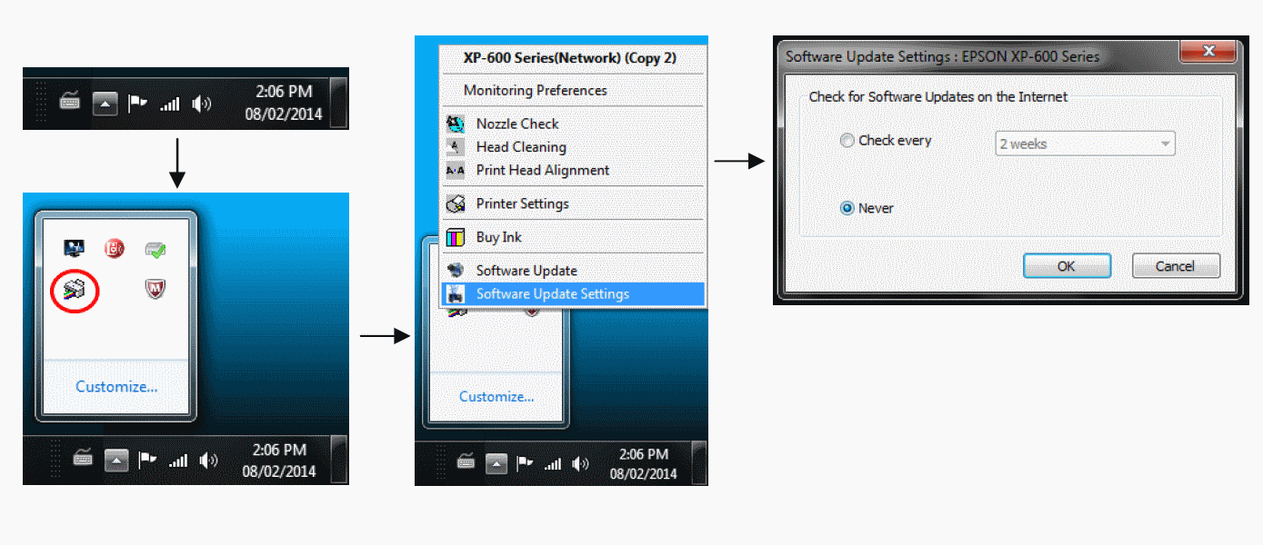 How to Disable Automatic Updates on Epson Printers - InkOwl