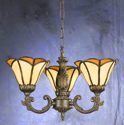 Tiffany-3-Glass-Antique-Bronze-Color-Chandelier-23000